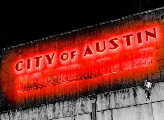 Austin City Sign