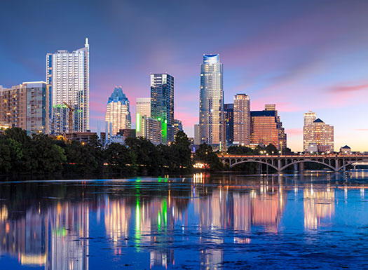 Austin Skyline Dusk