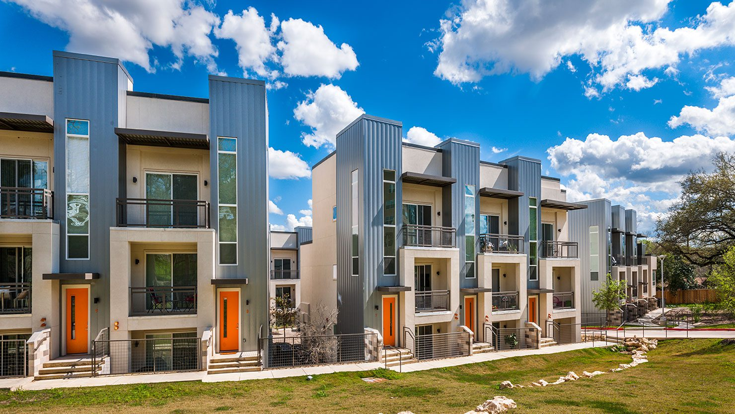 Bell South Lamar Town Homes Exterior